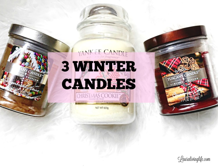 winter candles- lauralivinglfe