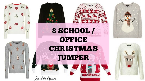 8 SCHOOL/OFFICE CHRISTMAS JUMPER