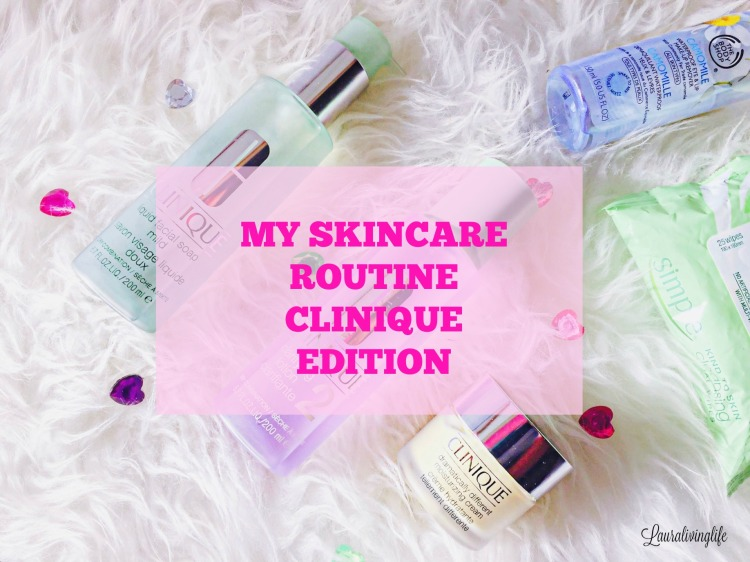 SKINCARE ROUTINE CLINIQUE 3 STEP SYSTEM