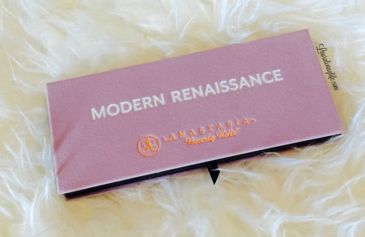 Anastasia Beverley Hills- Modern Renaissance Palette Review