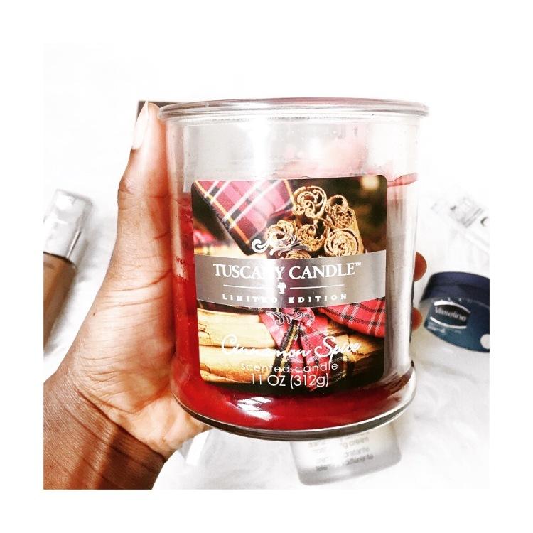 Tuscany Candles Cinnamon Spice - lauralivinglife.com