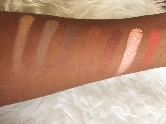 MORPHE 350 PALETTE SWATCH ROW 3