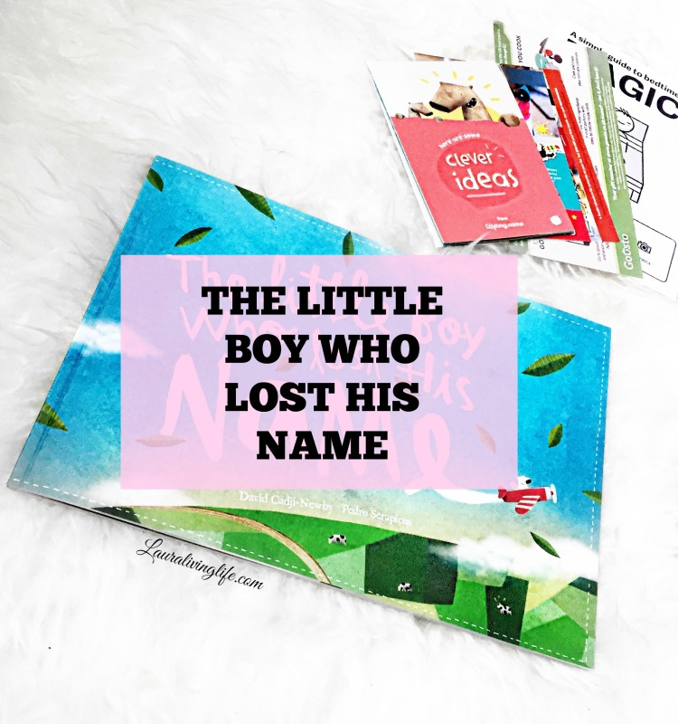 The little boy who lost his name book review- Lauralivinglife.com