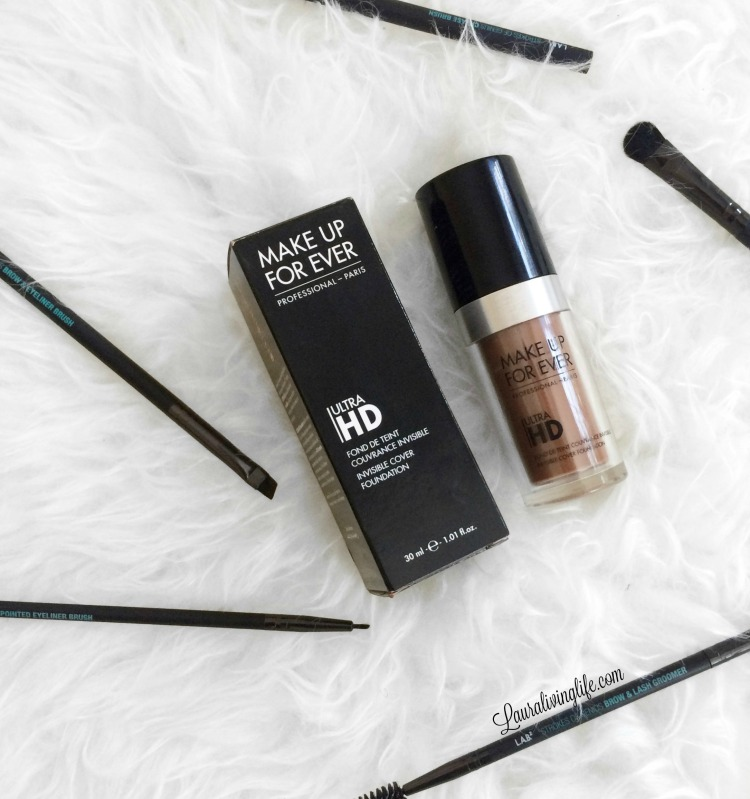Makeup Forever Ultra HD Foundation Review-lauralivinglife.com