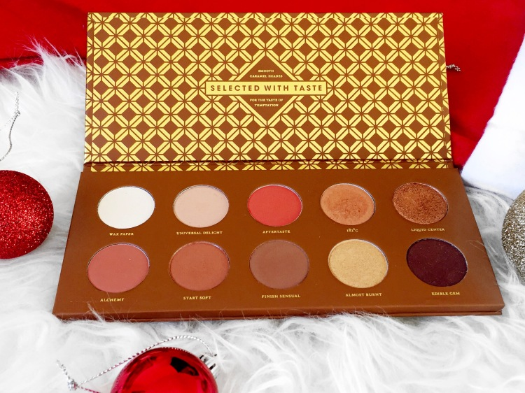 Zoeva Caramel Melange Eyeshadow Palette Review-Lauralivinglife.com