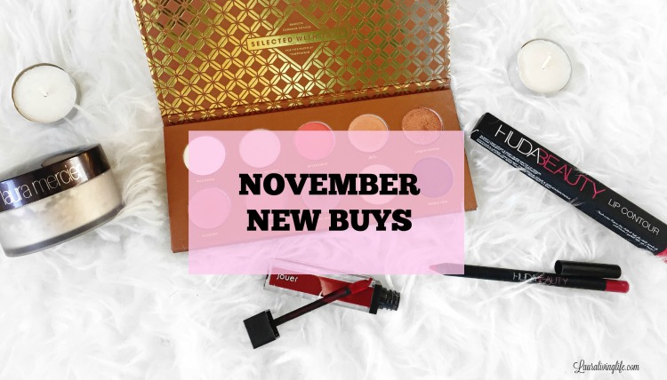 November New Buys- Lauralivinglife.com