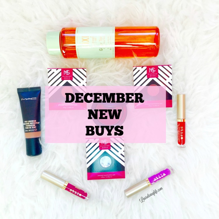 December New Buys- Lauralivinglife.com
