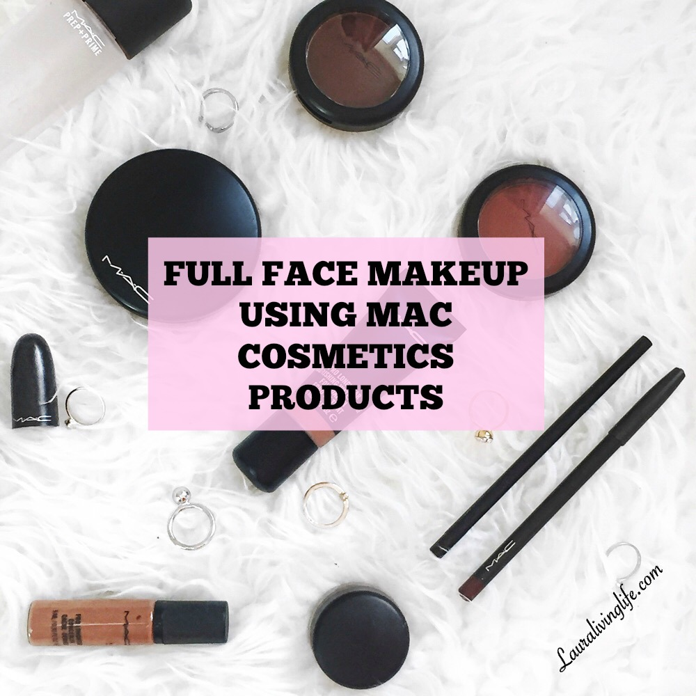 full face using MAC Products