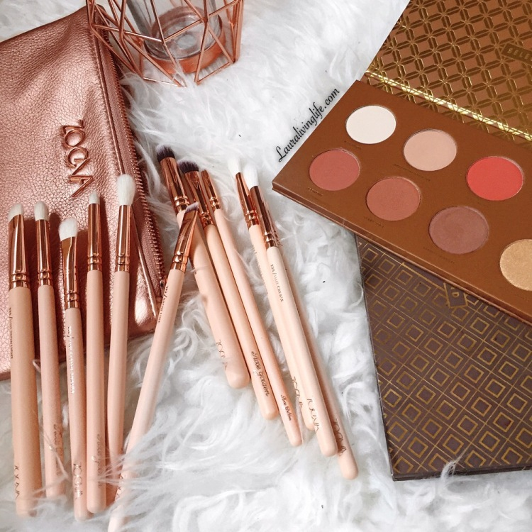 Zoeva rose golden volume 2 eye brush set review | Lauralivinglife.com
