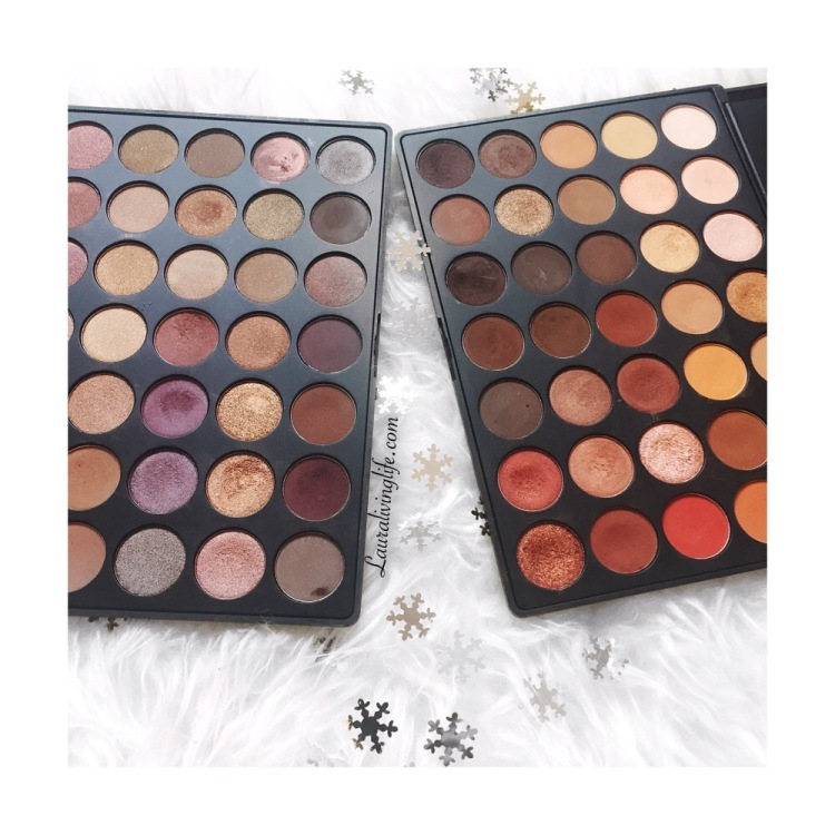 My Eye shadow palette collection- lauralivinglife.com
