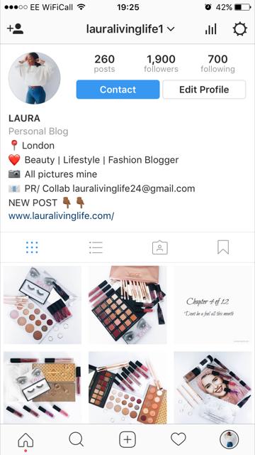 5 tips to grow your instagram- lauralivinglife