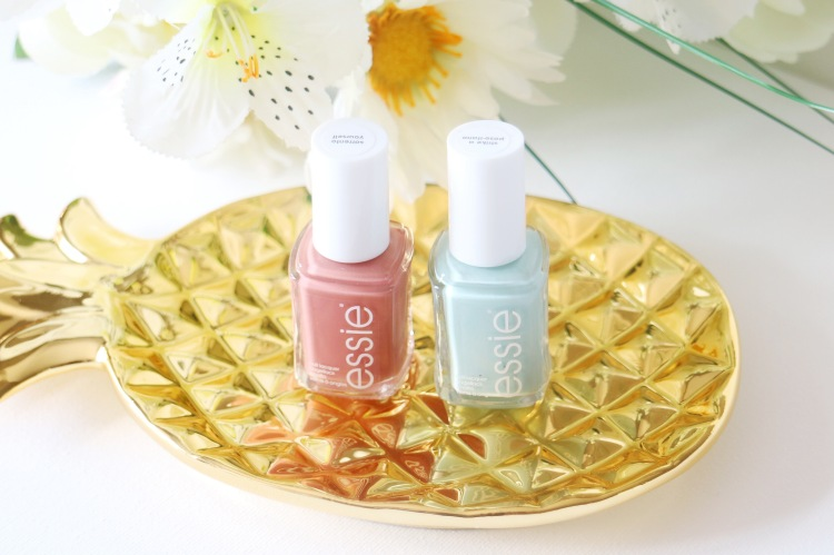 ESSIE NAIL POLISH Resort 2017 collection in Sorrento Yourself and Strike a positano